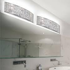 bathroom cool bathroom crystal light fixtures design decor photo