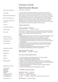 Sales Management Resume Examples by Executive Resumes Templates Resume Example Executive Assistant