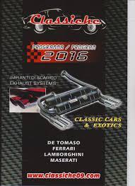 maserati lamborghini ansa historic exhausts for italian sportscars like ferrari