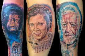 star wars tattoos an interview with epic ink u0027s josh bodwell