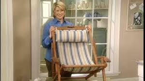 Rocking Chair Seat Replacement Video How To Replace A Beach Chair Seat Part 2 Martha Stewart