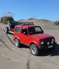 overland jeep tent sand arena samurai 4x4 offroad overland suzuki samurai trailer