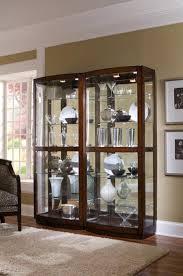 clockway pulaski oxford designer curio cabinet in walnut finish print a picture of this item
