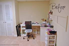 Craft Room Makeovers - basement craft room makeover one project closer