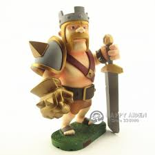 clash of clans archer queen clash of clans action figure barbarian king 17cm coc toy mobile