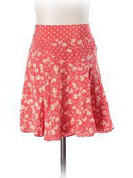 silk skirt marc by marc 100 silk print silk skirt size 4 81