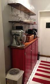 Tall Kitchen Cabinet by How Can I Add Shelves To My Tall Kitchen Cupboard To Use Wasted