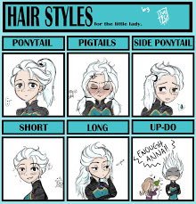 Elsa Frozen Meme - hair style meme by phuezo on deviantart
