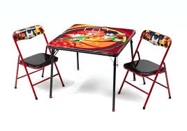 Folding Table Chair Set Mickey Mouse Folding Chairs U2013 Visualforce Us