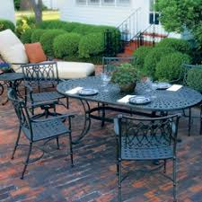 Cast Aluminum Patio Tables Windham Castings Furniture Made In The Usa Cast Aluminum Patio