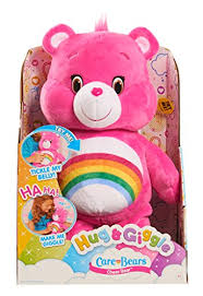 amazon play care bears hug u0026 giggle feature cheer plush