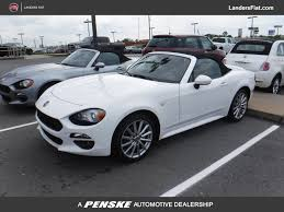 2017 new fiat 124 spider lusso convertible at landers alfa romeo