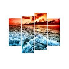 Landscape Canvas Prints by Online Get Cheap Large Beach Canvas Prints Aliexpress Com