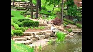 Waterfall Design Ideas Wonderful Garden Landscape With Fish Pond And Waterfall Design