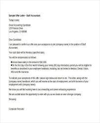 25 job offer letter example free u0026 premium templates