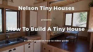 tinyhouse build your own tiny house u2013 a step by step video series by seth