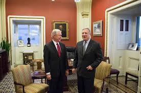 Donald Trump Home by Illinois Sen Durbin Hesitant On Some Donald Trump Cabinet