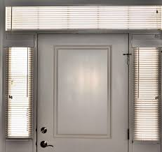 Blinds For Sidelights Blinds For Less Before And After