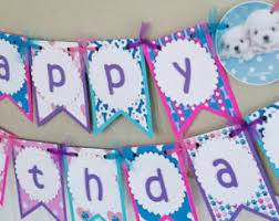 puppy party supplies puppy birthday party etsy
