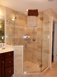 bed bath bathtub and neo angle shower with bathroom fixtures