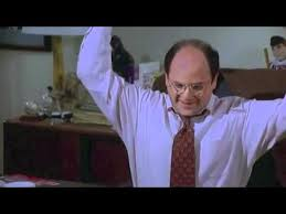 George Costanza Under Desk Seinfeld Clip George Acts Annoyed Youtube