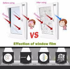 removable glass window decals decorative window film shower doors