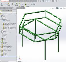 solidworks use a 3d model to quickly create a 3d weldment sketch