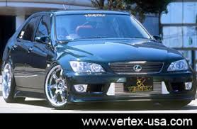 lexus is 300 kit is300 sxe gxe10 front bumper 98 05 is300 lexus vertex usa
