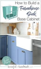 kitchen sink base cabinet and countertop how to build a farmhouse sink base cabinet kitchen sink