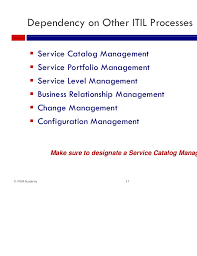 it and business service catalogs