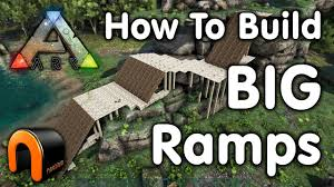 How To Build A Stump by Ark How To Build A Huge Ramp Youtube