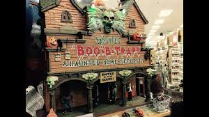 Halloween Usa Com by Best Halloween Town Display At Michaels Usa 2016 Youtube