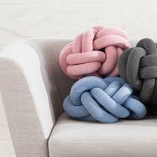 Knot Pillows by Knot Cushion Pink Moma Design Store