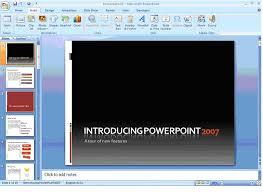 powerpoint 2007 presentations universalclass