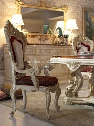 bisini luxury italian style dining table french royal dining room