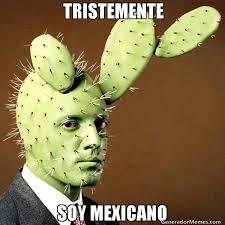 Meme Mexicano - tristemente soy mexicano meme de cara de nopal imagenes memes