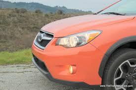 orange subaru crosstrek review 2013 subaru xv crosstrek video the truth about cars