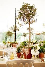 Tree Centerpiece Wedding by Olive Tree Centerpiece Wed Decor By I Vamvakari Pinterest