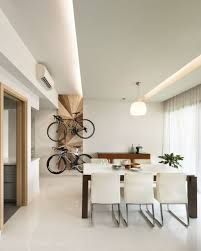 Home And Interiors by 65 Livia Minimalism Condominium Interior Design Dining Area With