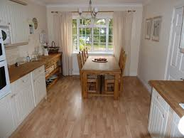 Weathered Laminate Flooring Fascinating Weathered Oak Color Natural Style Vinyl Kitchen Floor