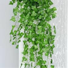 aliexpress com buy 24pcs bag plastic green ivy leaves artificial