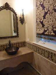 Glam Powder Room Romancing The Home Powder Room In Antique Italian Style
