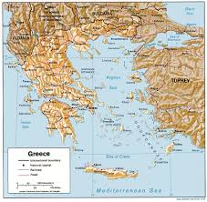 Greece Turkey Map by Greece Maps
