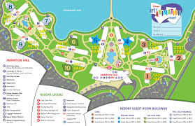 Orlando Parks Map by Of Animation Resort Map