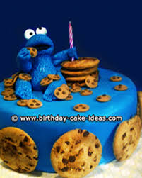 cookie monster birthday cake jpg