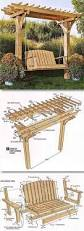 Diy Wooden Garden Furniture by Diy Outdoor Patio Furniture Ideas U0026 Instructions Chair Bench