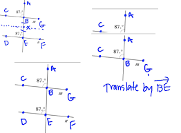 Alternate Corresponding And Interior Angles Using Rigid Motions For Parallel Lines Angle Proofs Easing The