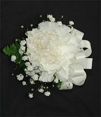corsage prices single carnation corsage a simple statement for your special