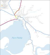 Network Map File Melbourne Freight Network Map Png Wikipedia