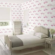 pretty flamingo wallpaper laura ashley